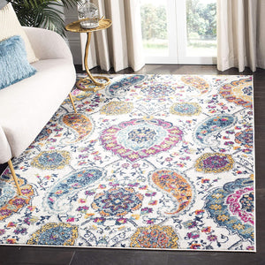 Floral Cream/multi Soft Area Rugs