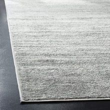 Ombre Ivory Silver Soft Area Rug