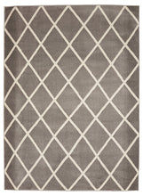 Trellis Gray/Grey Ivory Area Rugs