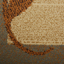 Bordered Design Brown Beige Soft Area Rugs