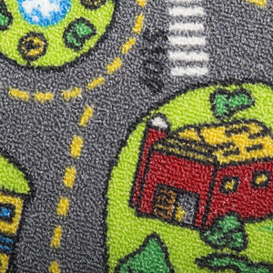 City Life Kids Non-Skid Area Rug