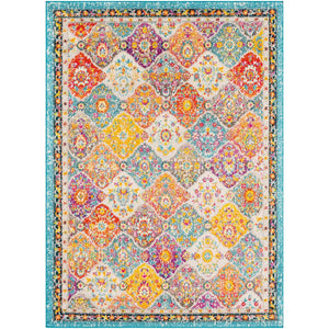 Traditional Medallion Multi-color Area Rug