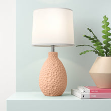 14 inch Ceramic Crafted Table Lamp