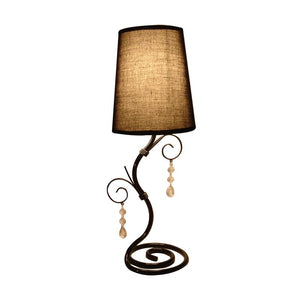 19 inch Light Brown Table Lamp
