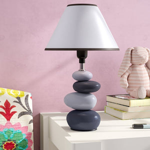 14 inch Rock Design Table Lamp