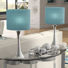 Turquoise Table Lamp 24 inch - Set of 2