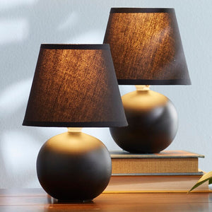 Mini 9 inch Table Lamp Set