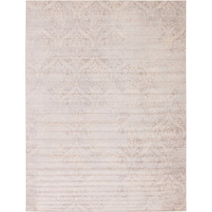Abstract Pattern Muted Grey Soft Area Rug