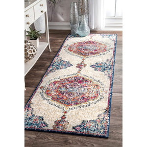 Multi-color Medallion Soft Area Rug