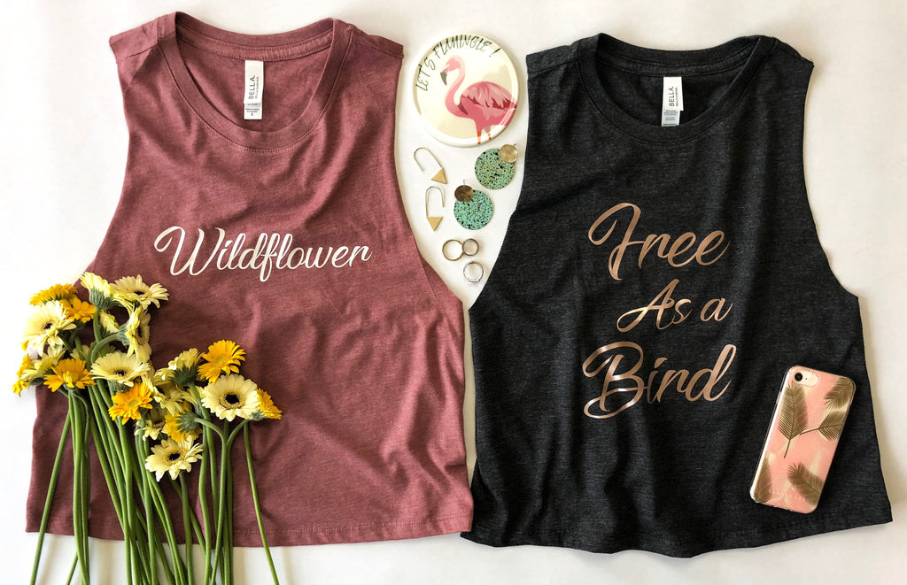 WILDFLOWER & FREE AS A BIRD Crop