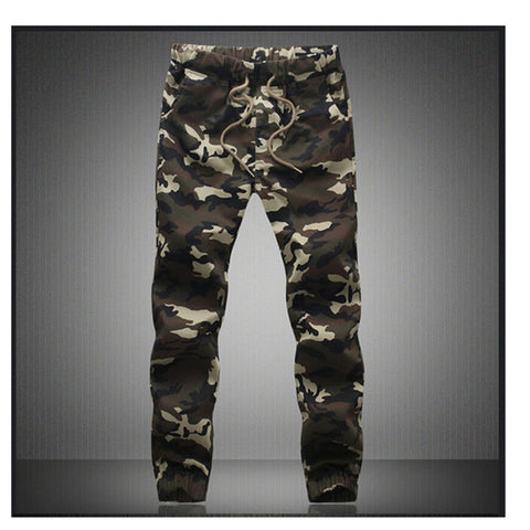 M-5X Jogger &  Sports Autum Camouflage Military Pants Loose Comfortable Cargo