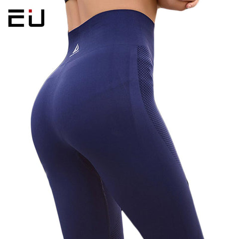 EU Yoga Womens  Leggings Yoga Pants High Elasticity High Waist