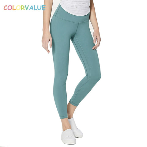 Colorvalue Super Soft Yoga Fitness Pants Women