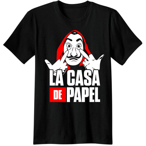 le-masque-dali-vêtement-La-casa-de-papel-Tshirt-fuck-you