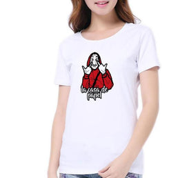 le-masque-dali-vêtement-La-casa-de-papel-t-shirt-femme-fuck-you