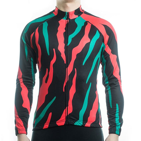 Long Sleeve Cycling Jersey - Ripped