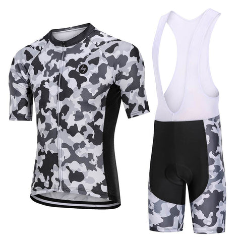 Snow camo Cycling kit
