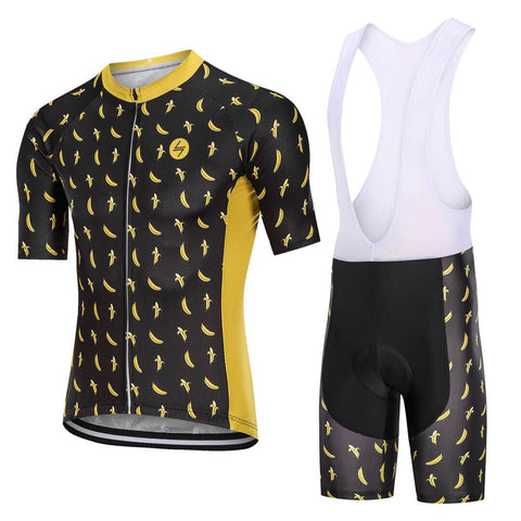 Cycling kit - Bananas