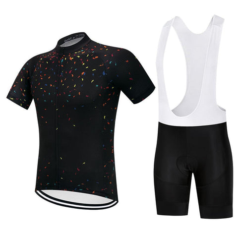 Cycling Kit - BlackConfetti-SteepCycling