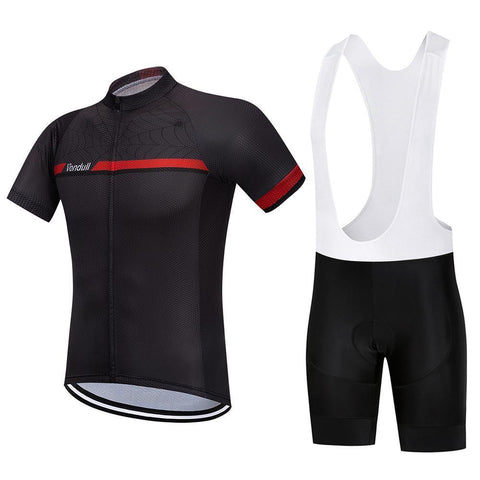 Cycling Kit - BlackSpider-SteepCycling