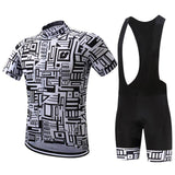 Cycling Kit - BlackWhite-SteepCycling