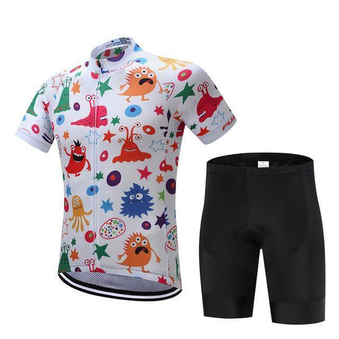 Cycling Kit - Monsters-SteepCycling