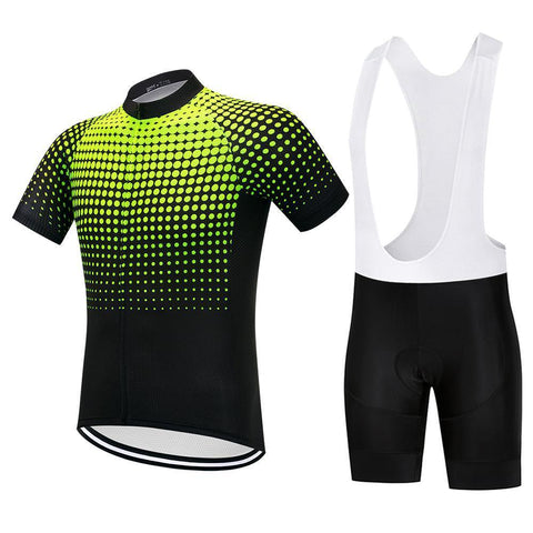 Cycling Kit - NeonYellow-SteepCycling