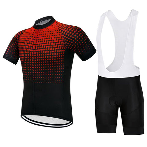 Cycling Kit - RedDots-SteepCycling