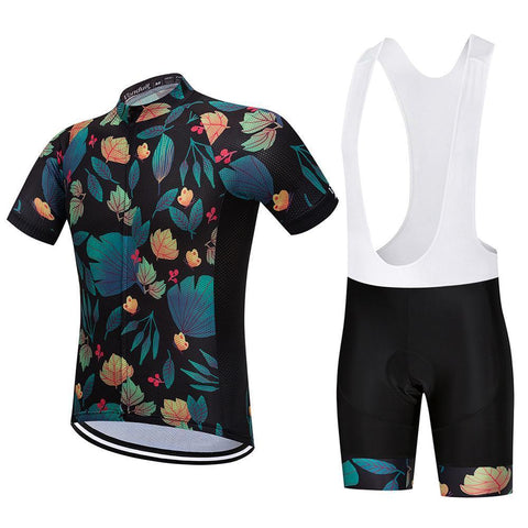 Cycling Kit - SummerLeaves-SteepCycling