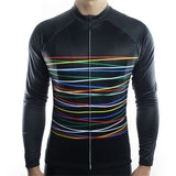 Long Sleeve Cycling Jersey - SlashBlack