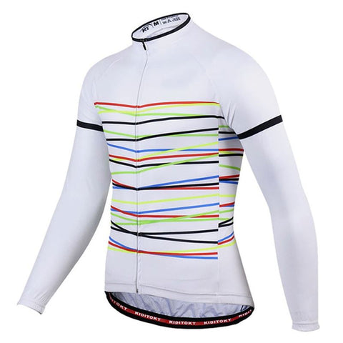 Long Sleeve Cycling Jersey - Slash