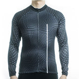 Long Sleeve Cycling Jersey - Reptile