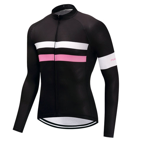 Long Sleeve Cycling Jersey - TwoLines