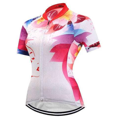 Short Sleeve Cycling Jersey - ColorSplash