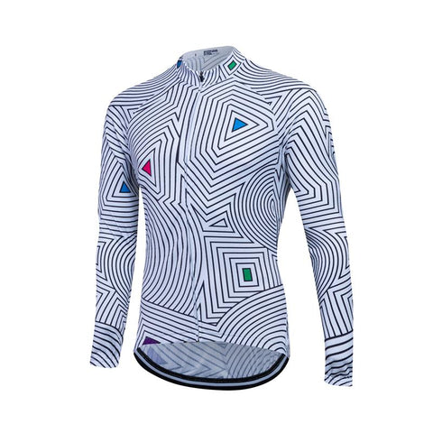Long Sleeve Cycling Jersey - Trail