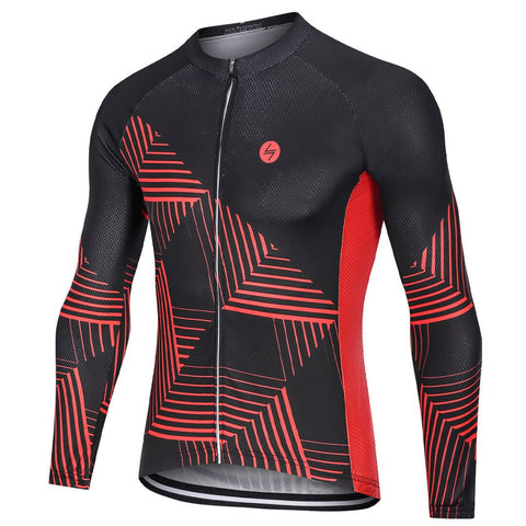 Long Sleeve Cycling Jersey - Blaze
