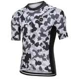 Cycling Jersey - Snow Camo