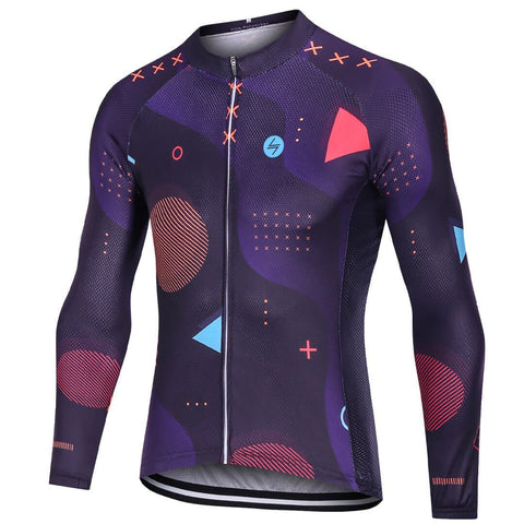 Long Sleeve Cycling Jersey - Space