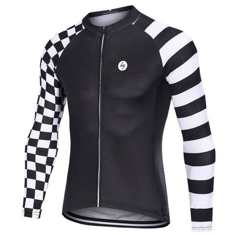 Long Sleeve Cycling Jersey - indigo