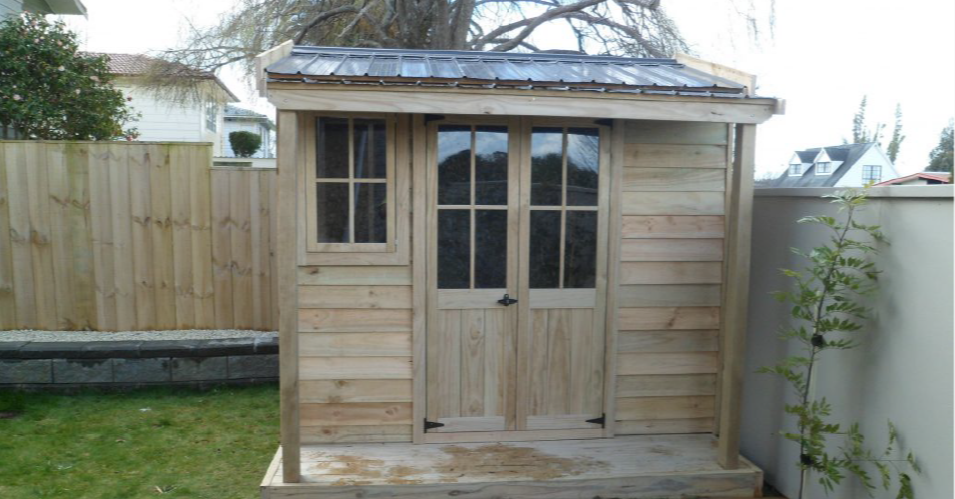 Small Villa Garden Shed