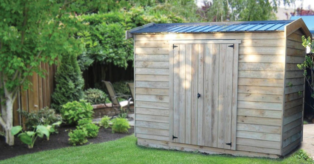 Classic Small Garden Shed 2.4m x 2m