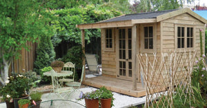 Large Cottage Garden Shed 4m x 2.4m - 9.6sqm