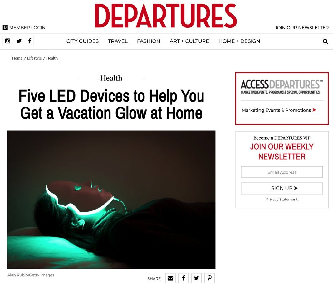 Five LED Devices to Help You Get a Vacation Glow at Home