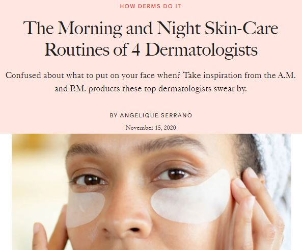 The Morning and Night Skin-Care Routines of 4 Dermatologists