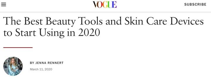 VOGUE Best in Beauty Tools for 2020
