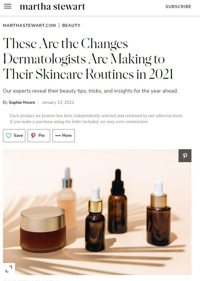These Are the Changes Dermatologists Are Making to Their Skincare Routine in 2021