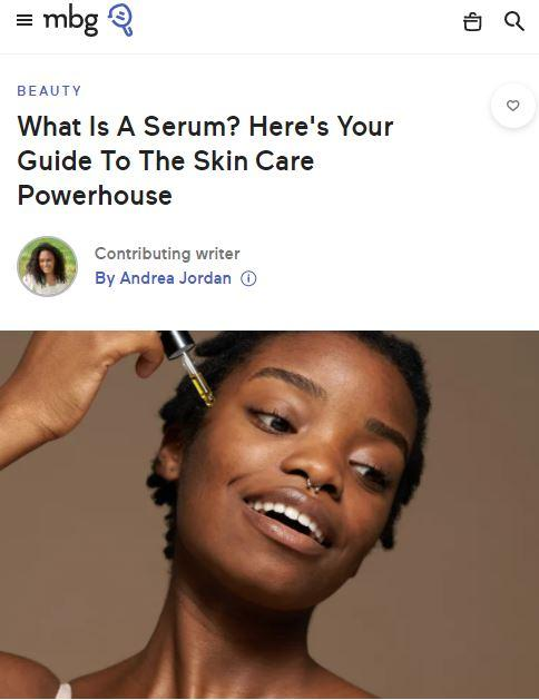 What Is A Serum? Here's Your Guide To The Skin Care Powerhouse