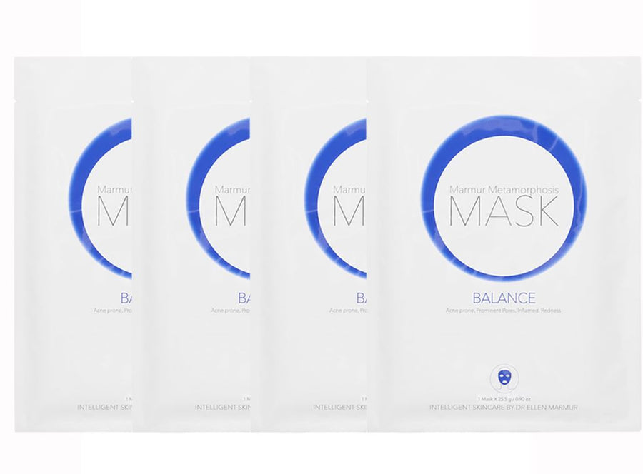 MMBalance Face Masks - Treatment for Acne, Redness, and Irritated Skin