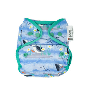 Pop in popper nappy puffins