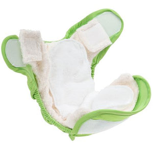 Little Lamb Fitted Nappy - Bamboo